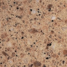 Alpha Brown Zodiaq Quartz worktop