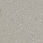 Warm Grey Corian kitchen worktop