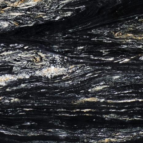 cosmic black leathered granite