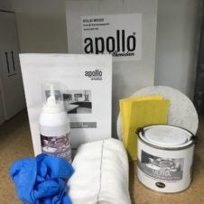 Apollo solid wood worktop care kit