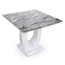 Neptune Square Marble Effect Top Dining Table
