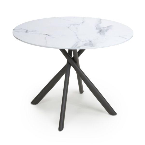 Avesta White Round Dining Table