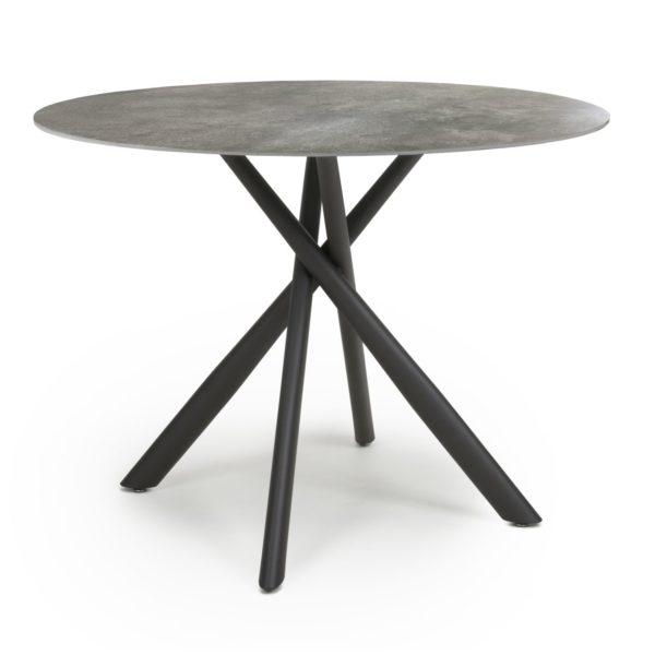 Avesta Grey Round Dining Table