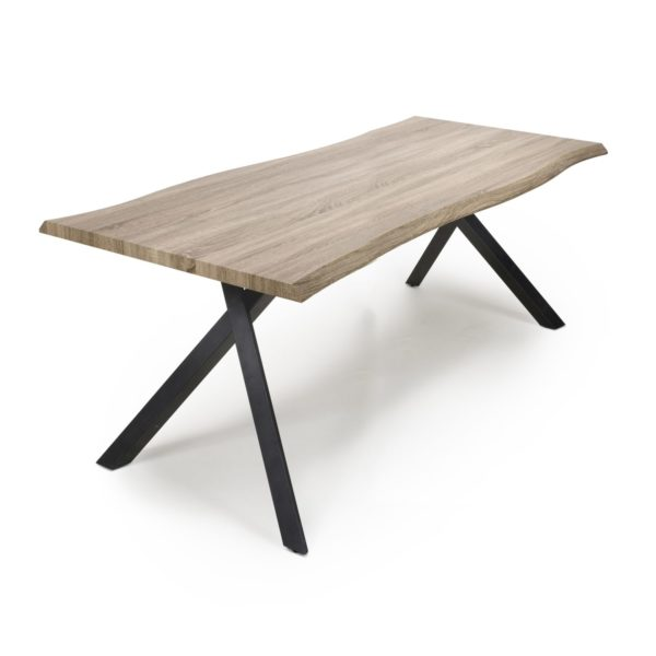 Narvik Large Curved Dining Table