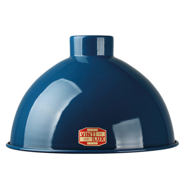 Vintlux Dome shade navy blue