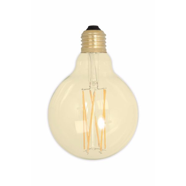 Dimmable Gold Globe Filament Bulb